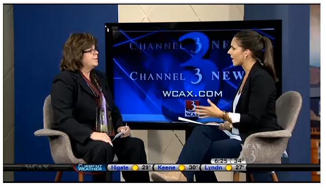 Heidi Clute on WCAX news