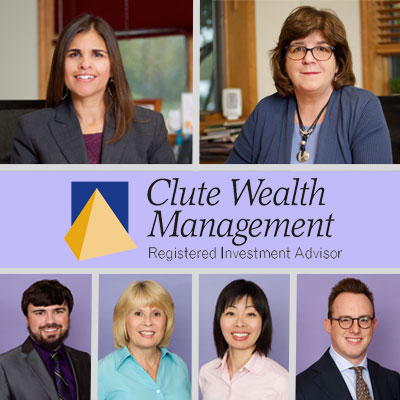 Clute Wealth Management client services team